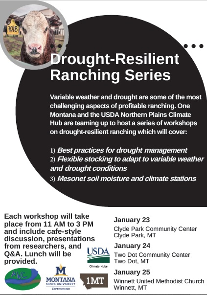 2018 Drought Resilient Ranching Workshop Series